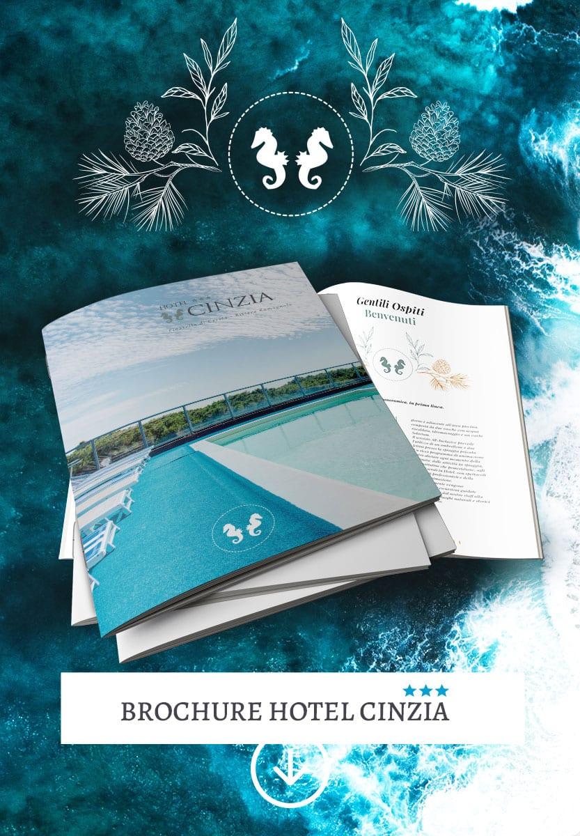 brochure hotel Cinzia Pinarella di Cervia