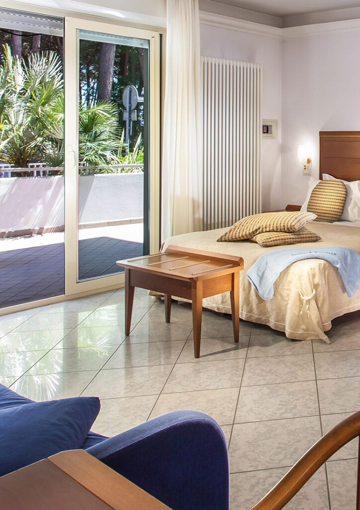 Residence Rosa Dei Venti à Pinarella di Cervia - Severi Hotels