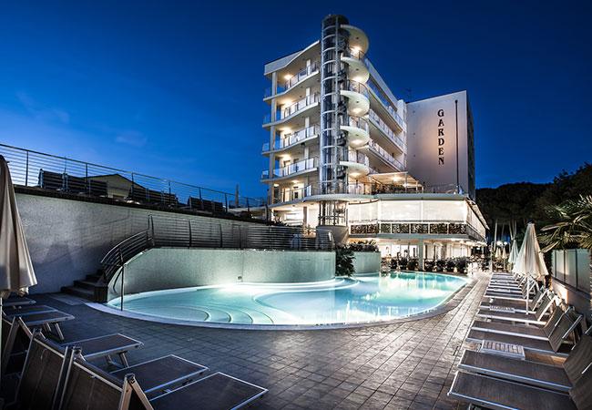 Hotel Garden 4 stelle a Pinarella di Cervia